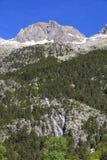 Banos de潘蒂科萨温泉 潘蒂科萨 比利牛斯 Huesc 免版税库存图片