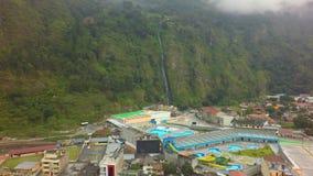 Banos De Água Santa Hot Springs And Waterfall filme