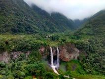 Banos de Agua Papá Noel, Ecuador foto de archivo libre de regalías