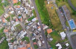 Banos de Agua Santa, città dell'America latina, Ecuador Fotografie Stock Libere da Diritti