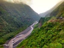 Banos de Agua Santa, Ecuador. River in Banos de Agua Santa, Ecuador stock photography