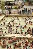 Banos DE Agua Santa Hot Springs Royalty-vrije Stock Afbeelding