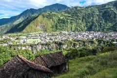 Banos De Agua Santa w Ekwador Zdjęcia Stock