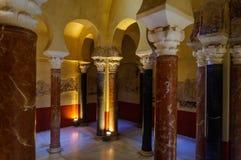 Banos del Alcazar Califal (λουτρά του χαλιφάτου Alcazar) Στοκ φωτογραφία με δικαίωμα ελεύθερης χρήσης