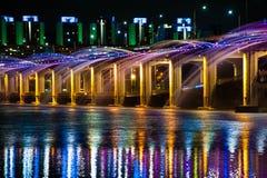 Banpo-Brücke Lizenzfreies Stockfoto