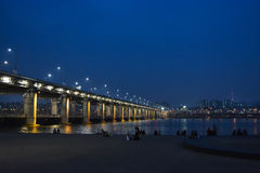 Banpo Bridge Stock Photo