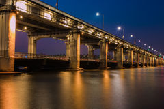 Banpo bridge in seoul Stock Photos