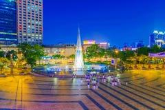 Banqiao mieszkana kwadrat Zdjęcie Royalty Free