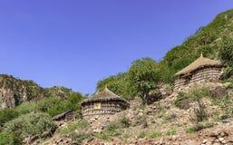 Banquale wioska w Djibouti Fotografia Royalty Free