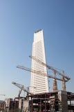 Banque centrale de chantier de construction du Kowéit Photos libres de droits