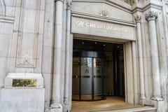 Banque d'Agricole de crédit Image libre de droits