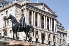 Banque d'Angleterre. Photos libres de droits