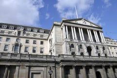 Banque d'Angleterre, Londres Images libres de droits