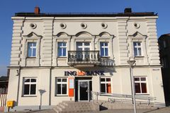 Banque d'ING, Pologne Images stock