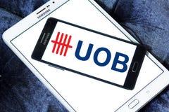 Banque d'outre-mer unie, UOB, logo images stock
