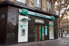 Banque de BNP Pariba Photo libre de droits
