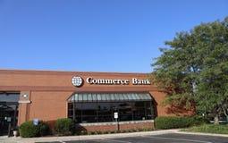 Banque de commerce, Saint Louis, MOIS Photos stock