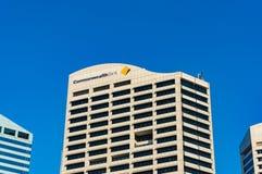 Banque de Commonwealth du bâtiment d'Australie à Sydney CBD Photographie stock