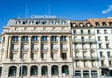 Banque de Credit Suisse Images libres de droits