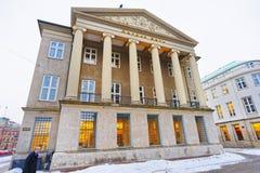 Banque de Danske en hiver Copenhague Photographie stock libre de droits