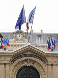 The Banque de France Royalty Free Stock Photography