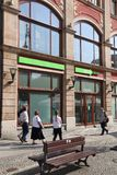 Banque de Getin, Pologne photo stock