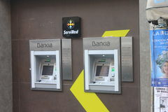 Banque de groupe de Bankia Image libre de droits