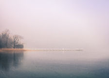 Banque de lac Photographie stock