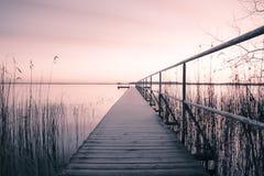 Banque de lac Photo libre de droits
