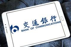 Banque de logo de communications Image libre de droits