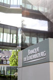 Banque de Luxembourg Royalty Free Stock Photography