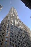 Banque de New York construisant au-dessus du ciel bleu Photographie stock libre de droits