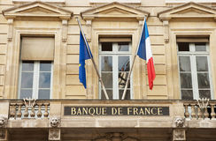 Banque des Frances Photo libre de droits