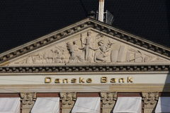 Banque du Danemark dans la capitale photo stock