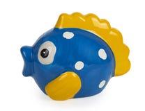 Banque mignonne de poissons Photo stock