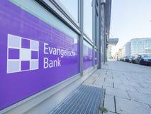 Banque protestante Munich Image stock