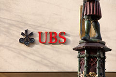 Banque suisse - UBS Photos stock