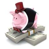 Banqueiro pessoal ilustração stock