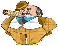 Banquero stock de ilustración