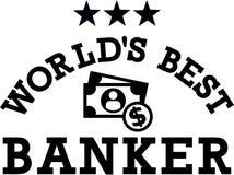 Banquero Money del ` s del mundo el mejor libre illustration
