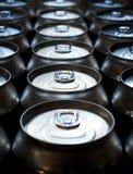 Banques de bière Image libre de droits
