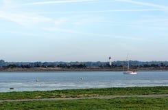 Banques de la rivière de Charente Photo libre de droits