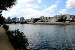 Banques de la Seine images libres de droits