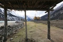 Banques de Ranwuhu des personnes tibétaines Photographie stock libre de droits