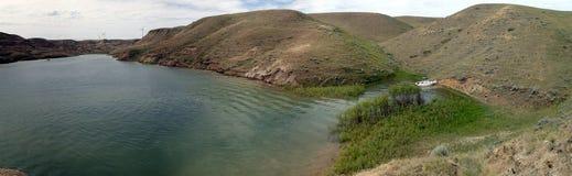 Banques des peu de vallées de lac bow Photo stock