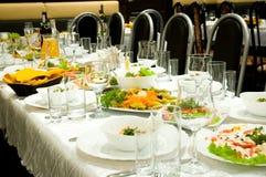 Banquet royalty free stock photos