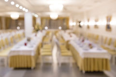 Banquet blurred background Stock Photos