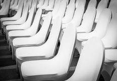 Banquet Chairs Royalty Free Stock Images
