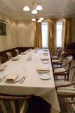 Banquet-corridoio Immagine Stock