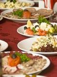 Banquet dans le restaurant photo stock